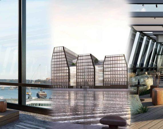 The Dockworks – Niams nya kontorskoncept i Värtahamnen