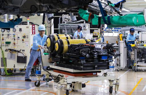 Rekordlåg framtidstro för Japans industri